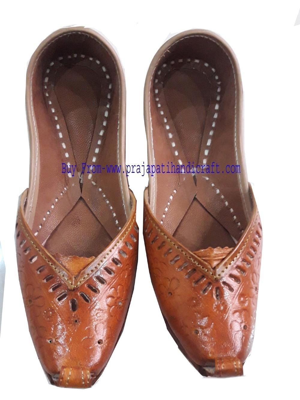 punjabi jutti khussa shoes indian shoes  leather shoes